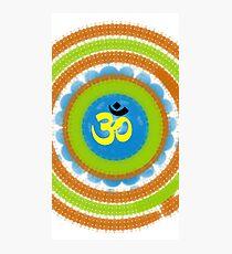 Dharma Om  Photographic Print