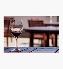 Wine Tasting Photographic Print