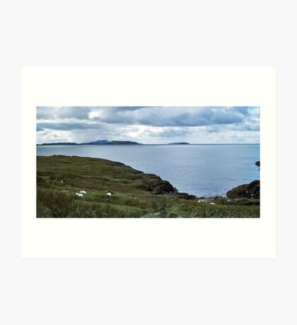 The Slate Islands & The Garvellachs Art Print