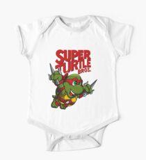Super Turtle Bros - Raph One Piece - Short Sleeve