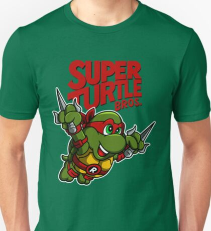 Super Turtle Bros - Raph T-Shirt