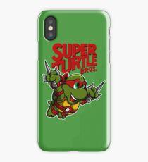 Super Turtle Bros - Raph iPhone Case/Skin