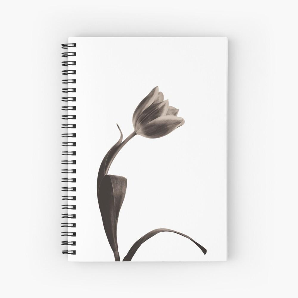 Antique Tulip Spiral Notebook