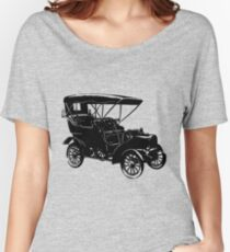 AUTOMOBILE-VINTAGE Women's Relaxed Fit T-Shirt