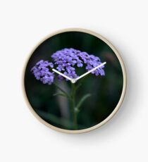 Floral print Clock