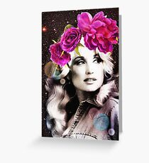 Holy Dolly Greeting Card