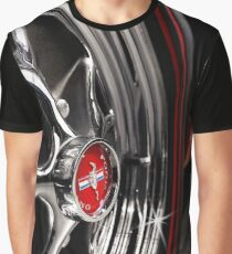 ford mustang, mustang wheel, red Graphic T-Shirt