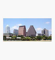Downtown Austin, Texas Cityscape Photographic Print