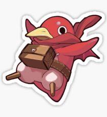 Red Prinny Sticker