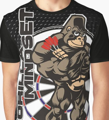 Gorilla Mindset Darts Shirt Graphic T-Shirt
