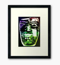 NEIL FACE Framed Print