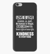 Freundlichkeit ist alles iPhone-Hülle & Cover