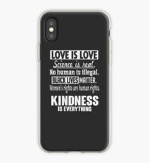 Kindness Is Everything iPhone Case