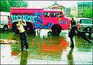 The Lady Penelope...Doof Fire Patrol Vehicle by Juilee  Pryor