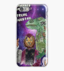 Commander Chameleons Supreme Squadron iPhone Case/Skin