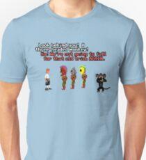A three-headed monkey! T-Shirt