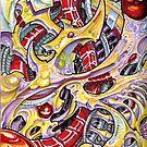 Biomechanic inner space by Derek Mullins