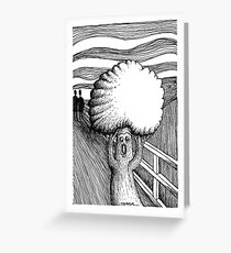 Scream -2 Greeting Card