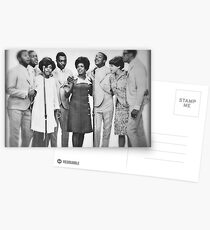 Motown Harmony Postcards
