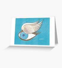 Flying Eye Greeting Card