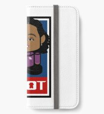 Deblasio'bot Politico'bot Toy Robot 2.0 iPhone Wallet/Case/Skin