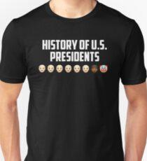 History Of Us Presidents Tshirt Unisex T-Shirt