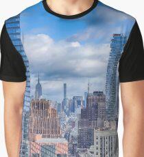 New York Cityscape Graphic T-Shirt
