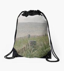Beachscape  Drawstring Bag
