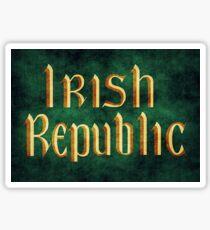 Irish Republic Flag Sticker