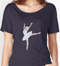 Swan Lake Arabesque Women's Relaxed Fit T-Shirt