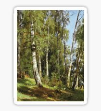 Ivan Shishkin - Birch Grove Sticker