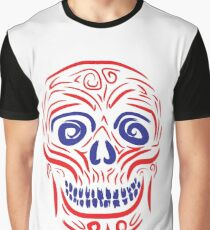 The smiling skull Graphic T-Shirt