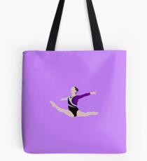 Gymnast - Split Leap Tote Bag