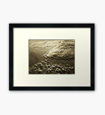 Lava Look-a-Like Framed Print