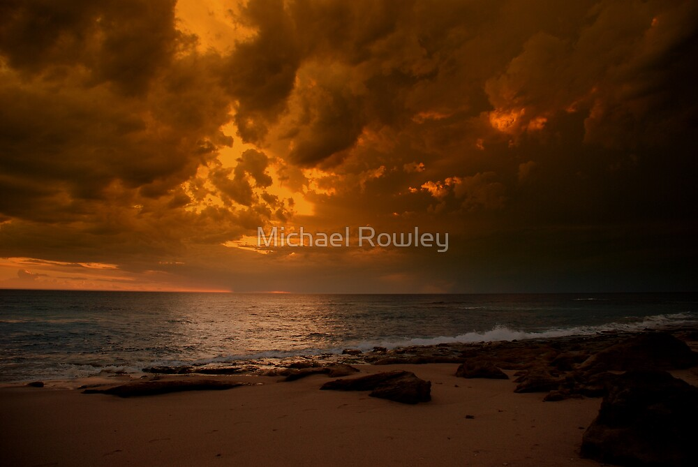 Storm approaching by Michael Rowley