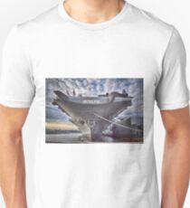 USS Intrepid's Bow Unisex T-Shirt