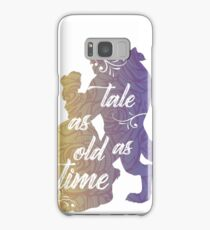 Beauty and The Beast- Tale as old as time Samsung Galaxy Case/Skin