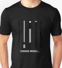 Choose your team wisely ! Unisex T-Shirt
