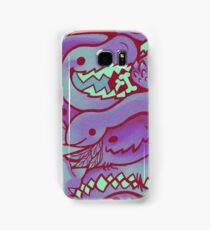 Dinosaur Pattern in purple Samsung Galaxy Case/Skin