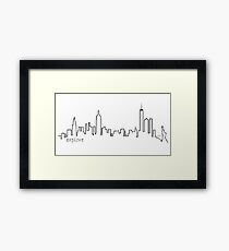 New York City - Explore Series Framed Print