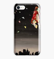 mj skyline iPhone Case/Skin