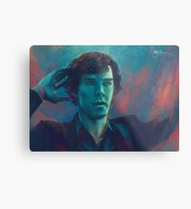 I Don't Know The Code Metal Print