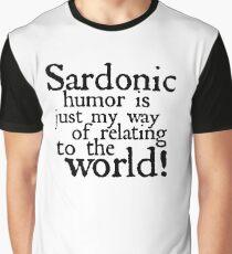 "RIVERDALE - ""Sardonic Humor"" Graphic T-Shirt"