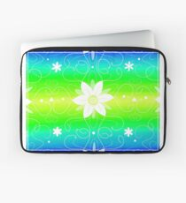 Flowery Swilrs Laptop Sleeve