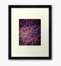 ARCADE (VARIANT) Framed Print