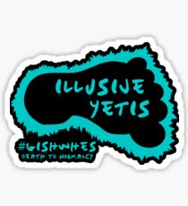 Illusive Yetis STICKERS Sticker