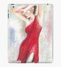 Oil Pastel on Canvas iPad Case/Skin