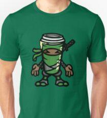 Coffee ninja or ninja coffee? -  green T-Shirt