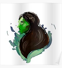 Elphie in Peace Poster