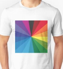 18 color circle spectrum Unisex T-Shirt